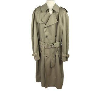 London Fog Towne 42 L Trench Coat Winter Lining